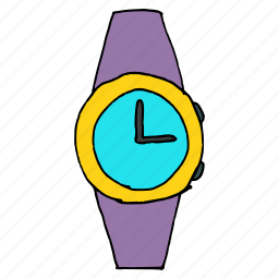 accessory, alarm, clock, style, time, watch, wrist watch icon