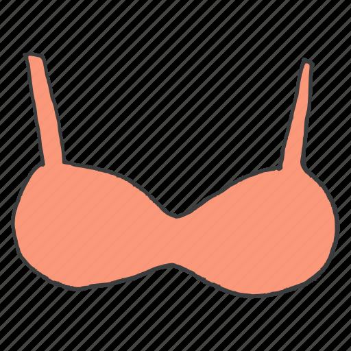 bra, clothing, innerwear, lingerie, undergarment, wear, women icon