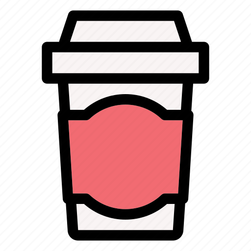 beverage, coffee, cup, drink, glass, hot icon