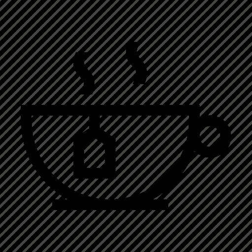 drink, healthy, hot, tea, teacup icon