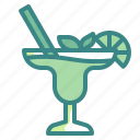 alcohol, beverage, cocktails, drink, fruit, glass, pub icon