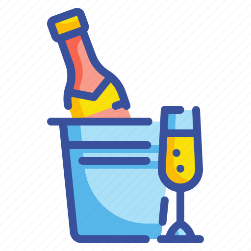 Alcohol, beverage, champagne, drink, glass, wine icon - Download on Iconfinder