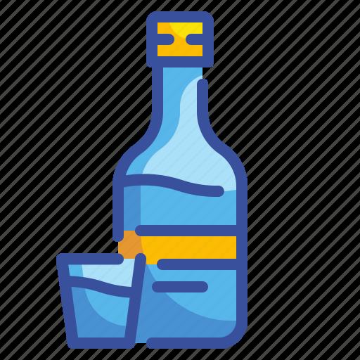 alcohol, beverage, drink, food, glass, pub, vodka icon