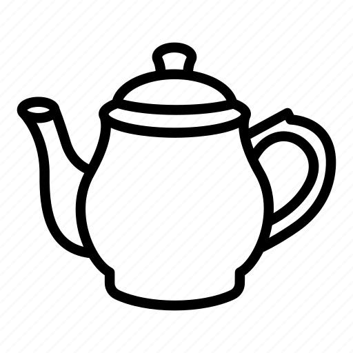 Ceramic, coffee, kettle, porcelain, pot, tea, teapot icon - Download on Iconfinder