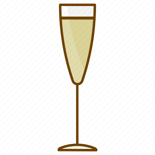 champagne, drink, glass, party, sparkling wine, white wine, wine icon