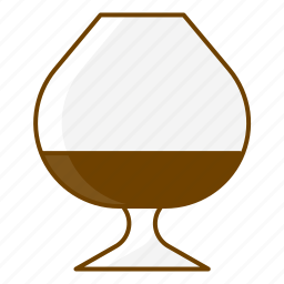 alcohol, beverage, brandy, celebration, cognac, drink, glass icon