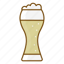 alcohol, beer, beverage, drink, free time, fun, glass icon
