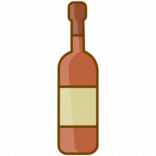 alcohol, beverage, bottle, celebration, drink, red wine, wine icon