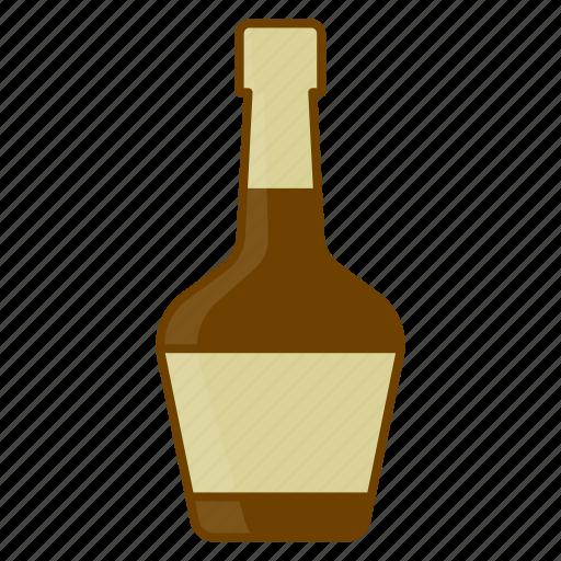 alcohol, beverage, bottle, brandy, celebration, cognac, drink icon