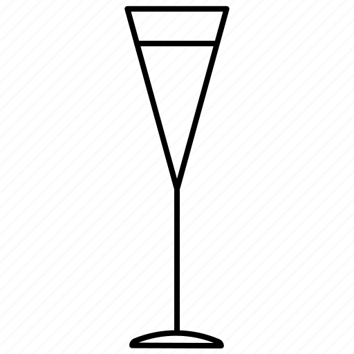 beverage, champagne, drink, glass, party, sparkling wine, wine icon
