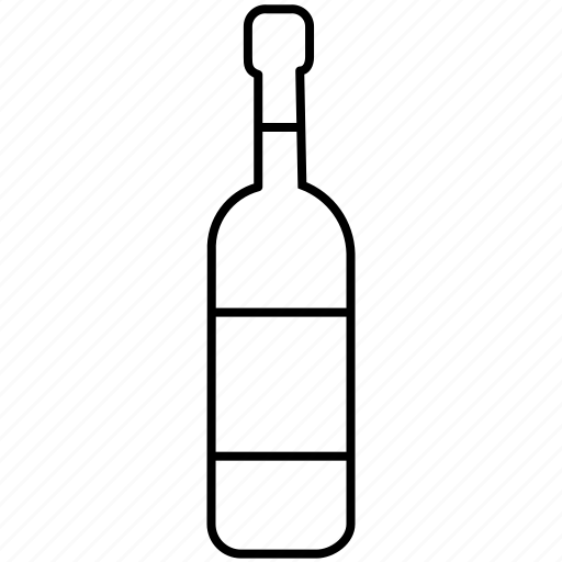 alcohol, beverage, bottle, drink, party, wine icon