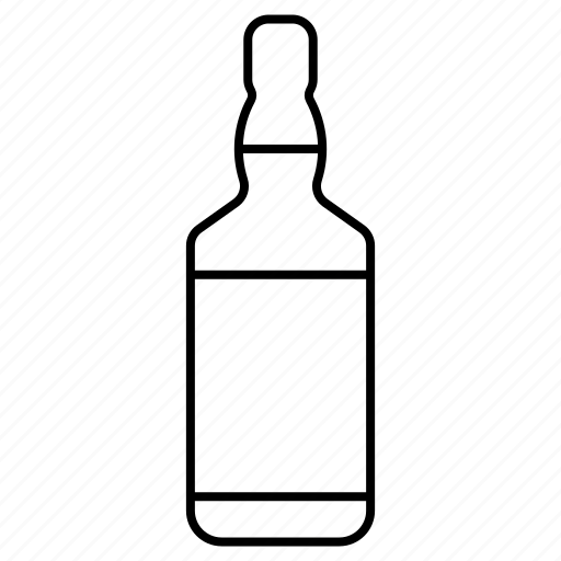 alcohol, beverage, bottle, drink, party, whisky icon