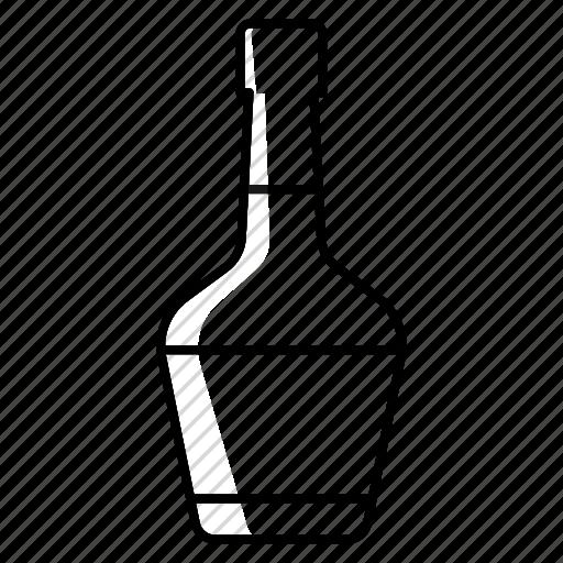 Alcohol, beverage, bottle, brandy, cognac, drink, party icon - Download on Iconfinder