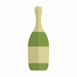 alcohol, bottle, celebration, champagne, drink, party, sect icon
