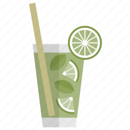 bar, celebration, cocktail, drink, glass, mojito, party icon