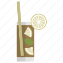 bar, celebration, cocktail, cuba libre, drink, glass, party icon