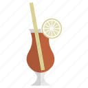 bar, celebration, cocktail, drink, glass, party, sex on the beach icon