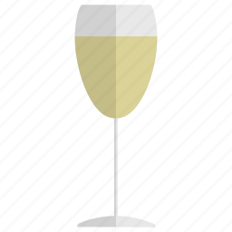 alcohol, beverage, drink, glass, party, white wine, wine icon