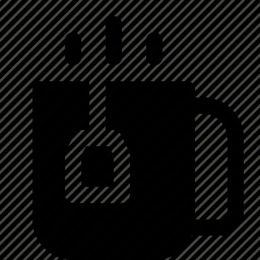 beverage, drink, glass, tea icon