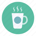 coffee, hot, mug icon