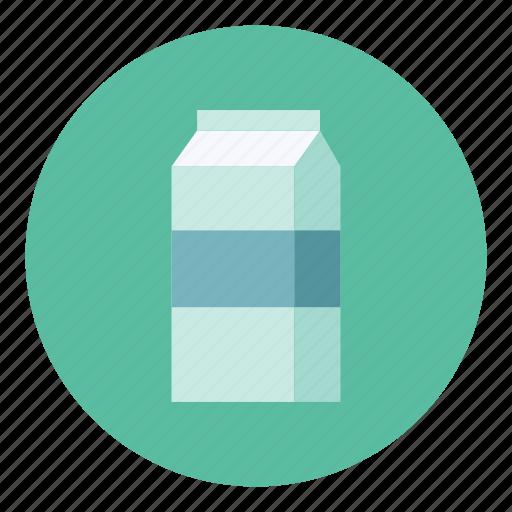 bag, milk icon