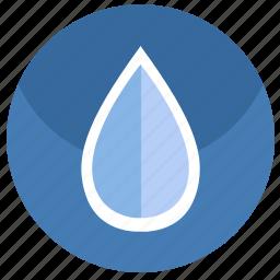drink, drop, fluid, water icon
