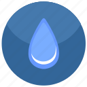 drop, fluid, water icon