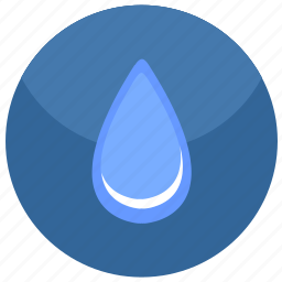 drop, fluid, water icon