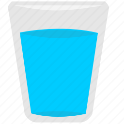 Drink, glass, mineral, water icon | Icon search engine