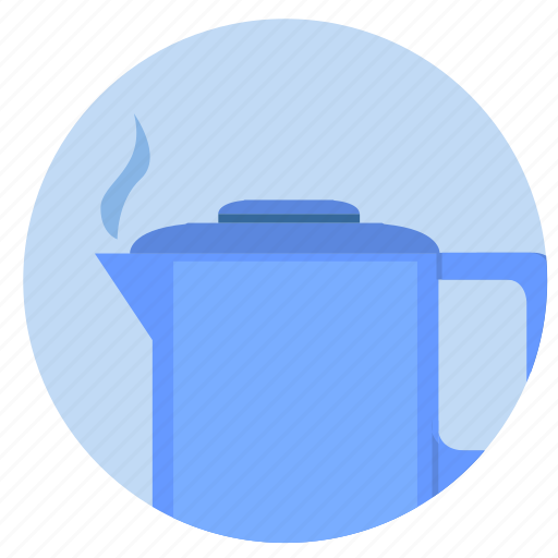 drink, hot, pot, tea, water icon