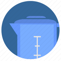 drink, filter, round, water icon