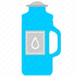 active, bottle, drink, fitness, water icon
