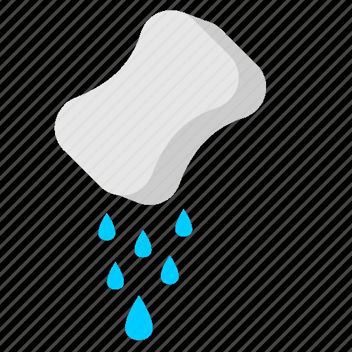 drink, drop, sponge, water icon