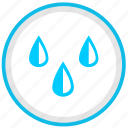 drink, drops, nature, rain, water icon