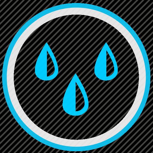 drink, drops, nature, rain, water icon