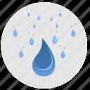 drops, fluid, rain, water