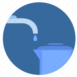 clean, drop, filter, water icon
