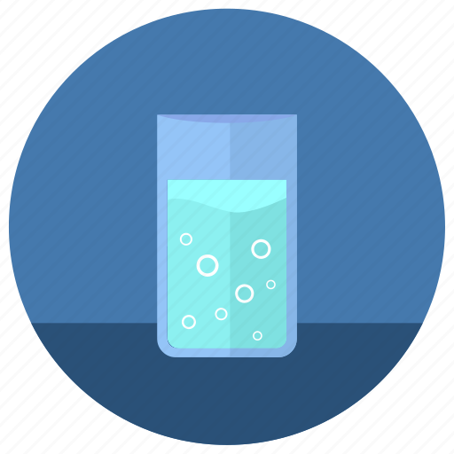 drink, fluid, glass, water icon