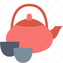 ceremony, cup, drink, kettle, tea, teapot, tradition icon