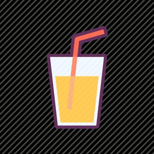 Juice, orange, summer icon - Download on Iconfinder