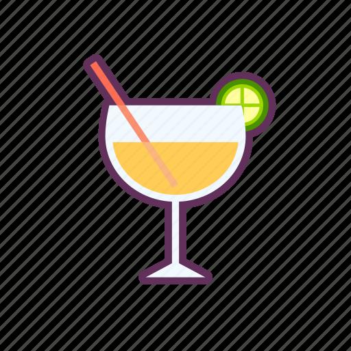 drink, lemon, tea icon