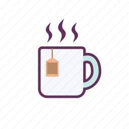 cup, glass, hot, tea icon