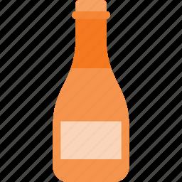 bottle, drink, drinks, wine icon