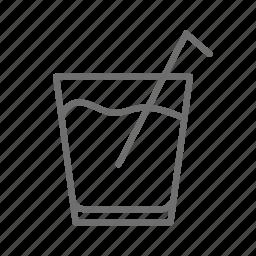 bar, beverage, drink, glass, menu, restaurant icon