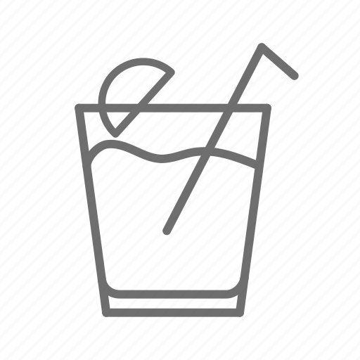alcohol, bar, beverage, citron, drink, glass icon