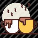 bar, beverage, latte, liquid icon