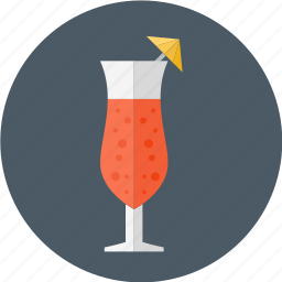 cocktail, cocktail glass umbrella, cocktail with umbrella, glass, umbrella icon