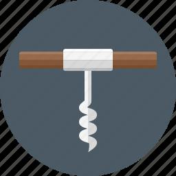 cork screw, corkscrew icon