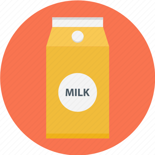 box, milk, milk box, milk carton, pack of milk icon