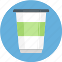 cup of coffee, glass, jar, mug, soda, starbucks icon